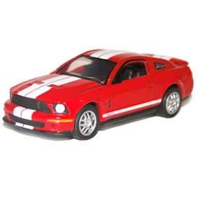 Ford Mustang Shelby GT500 1/64 similar do filme Eu Sou a Lenda (2006)