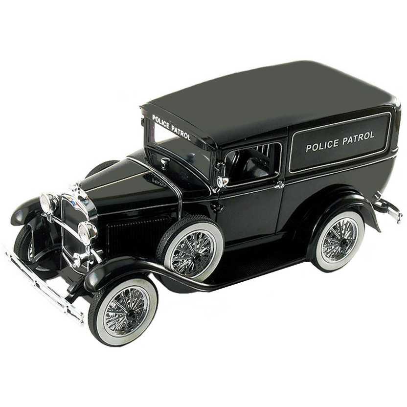 Ford Panel Police Wagon (1931) Model A viatura policial Signature Models escala 1/18