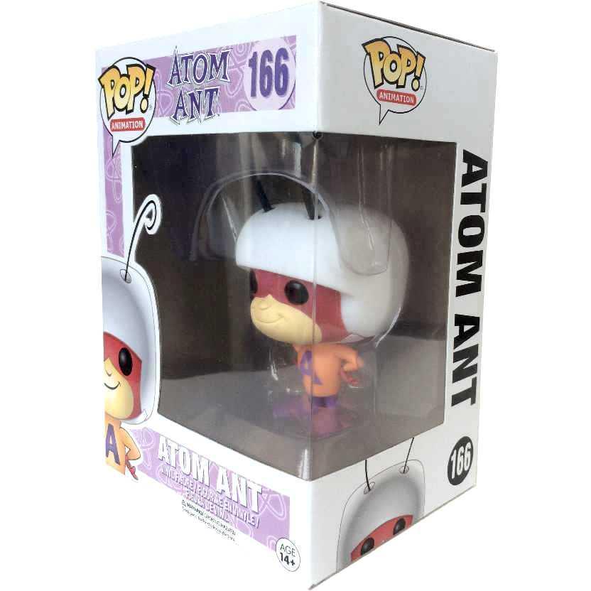 Formiga Atômica Funko Pop Atom Ant Hanna-Barbera Vinyl figure número 166