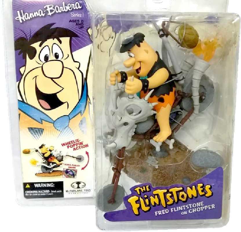 Fred Flintstone Chopper marca McFarlane Toys action figures