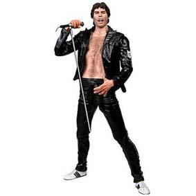 Freddie Mercury / Queen Black Leather (1970) aberto