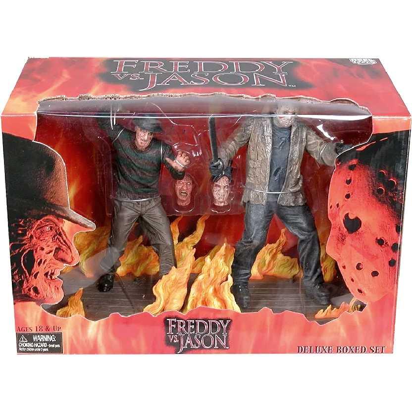Freddy Vs Jason Deluxe Box Set Neca Action Figures