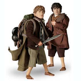 Frodo Baggins e Samwise Gamgee (aberto) sem caixa