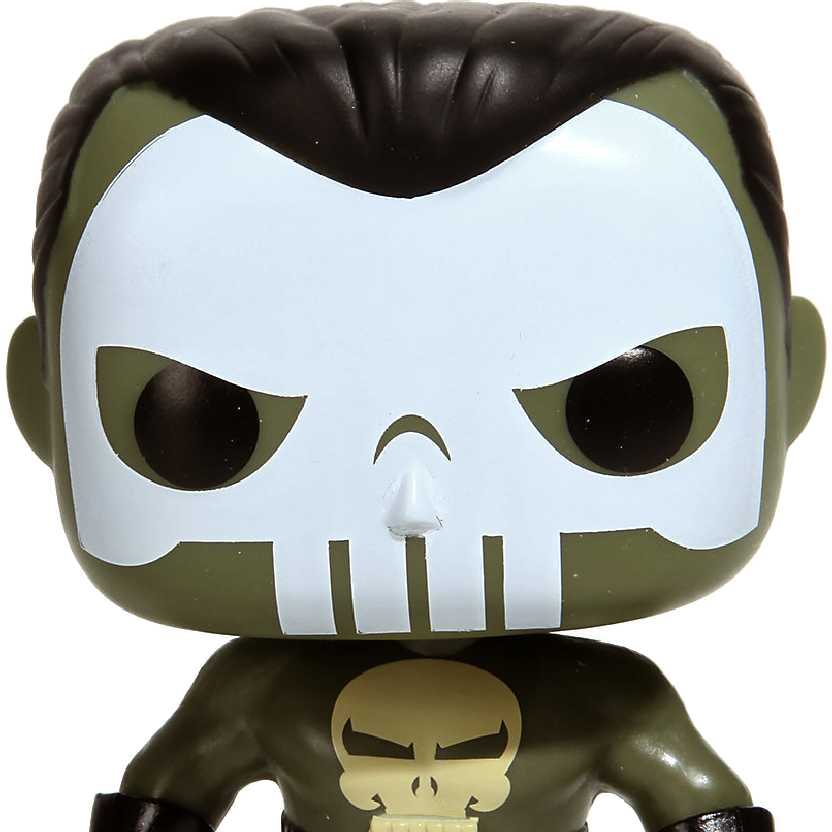 Funk Pop! Marvel Justiceiro (Punisher) Nemesis vinyl figure número 118