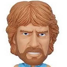 Funko - Chuck Norris Wacky Wobbler Bobblehead boneco que balança a cabeça e fala
