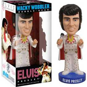 Funko Elvis Presley Aloha Hawaii Wacky Wobbler Bobble Head