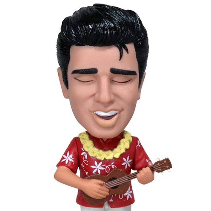 Funko Elvis Presley Blue Hawaii Wacky Wobbler Bobble Head