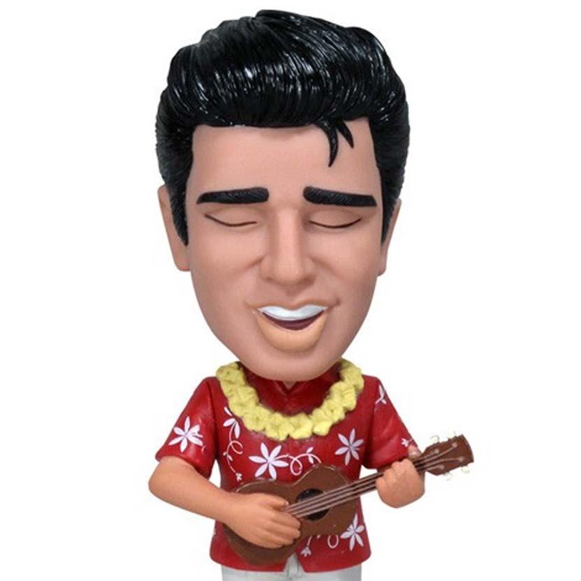 Funko  Elvis Presley Blue Hawaii Wacky Wobbler Bobble Head