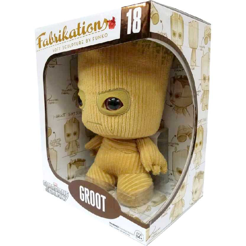 Funko Fabrikations Groot Guardiões da Galáxia #18 Guardians of the Galaxy Plush