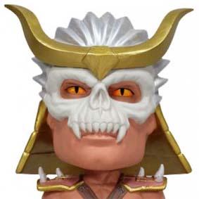 Funko Mortal Kombat - Wacky Wobbler Bobble Head - Shao Khan balança a cabeça