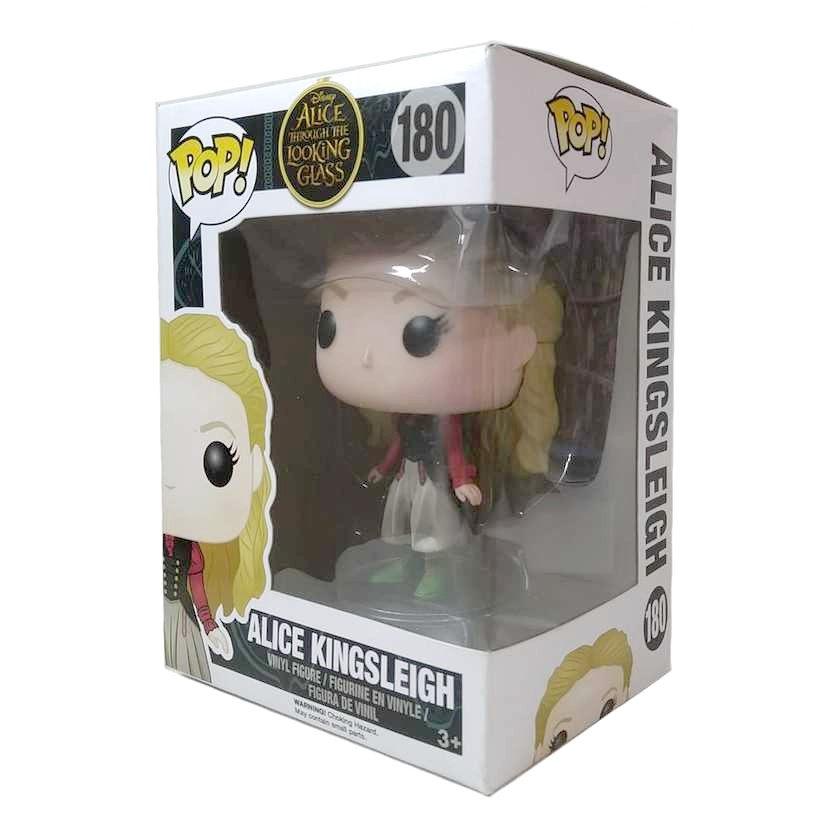 Funko Pop! Alice Through the Looking Glass Alice Kingsleigh vinyl figure número 180