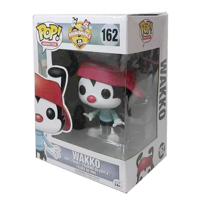 Funko Pop! Animation Animaniacs WAKKO Warner Bros. vinyl figure número 162 Vaulted