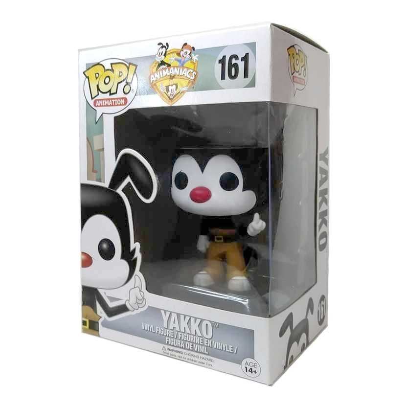 Funko Pop! Animation Animaniacs Yakko Warner Bros. vinyl figure número 163 Vaulted