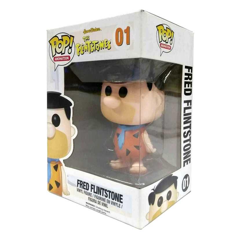 Funko Pop! Animation The Flintstones Fred Flintstone vinyl figure número 01 Vaulted