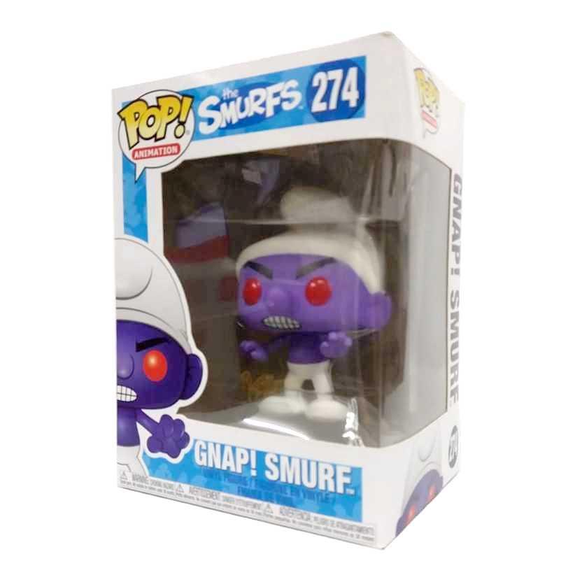 Funko Pop! Animation The Smurfs Gnap! Smurf vinyl figure número 274