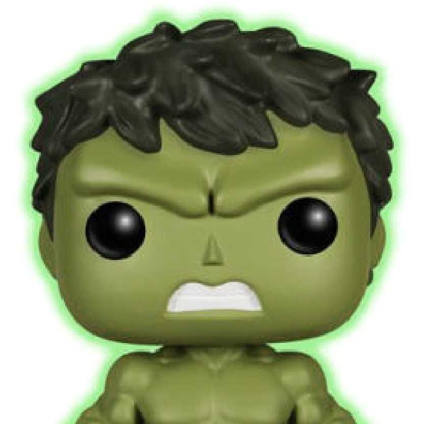 Funko Pop! Avengers 2 Hulk (Brilha no escuro) Barnes & Noble vinyl figure número 68