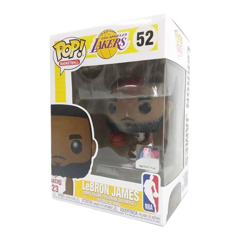 Funko Pop! Basketball NBA Los Angeles Lakers LeBRON JAMES vinyl figure número 52