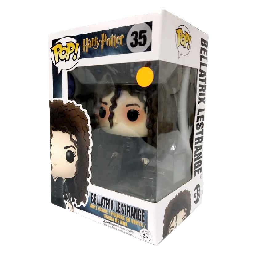 Funko Pop! Bellatrix Lestrange Harry Potter series 3 vinyl figure número 35 original