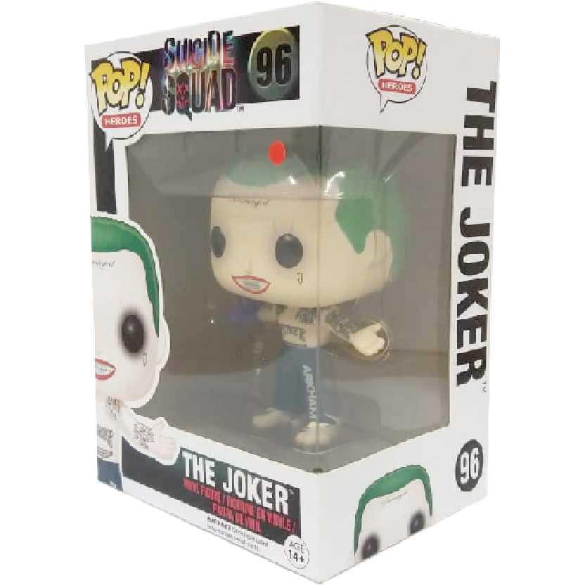 Funko Pop! Coringa (Esquadrão Suicida) Joker: Suicide Squad vinyl figure número 96 Original