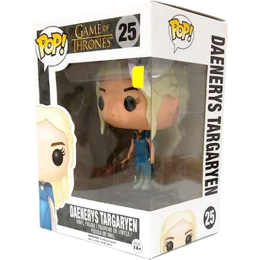 Funko Pop! Daenerys Targaryen Game Of Thrones vinyl figure número 25 (Emilia Clarke)
