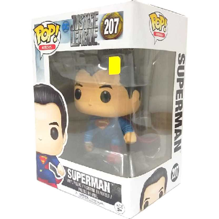 Funko Pop! DC Liga da Justiça Super Homem Justice League Superman número 207