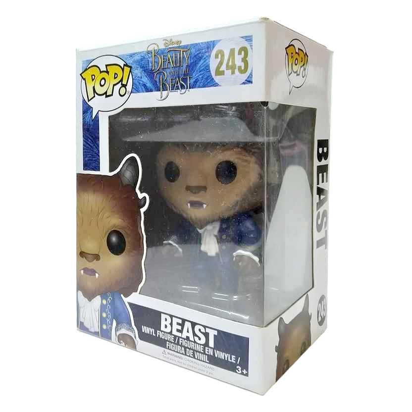 Funko Pop! Disney A Bela e a Fera Beast Beauty and the Beast vinyl figure número 243