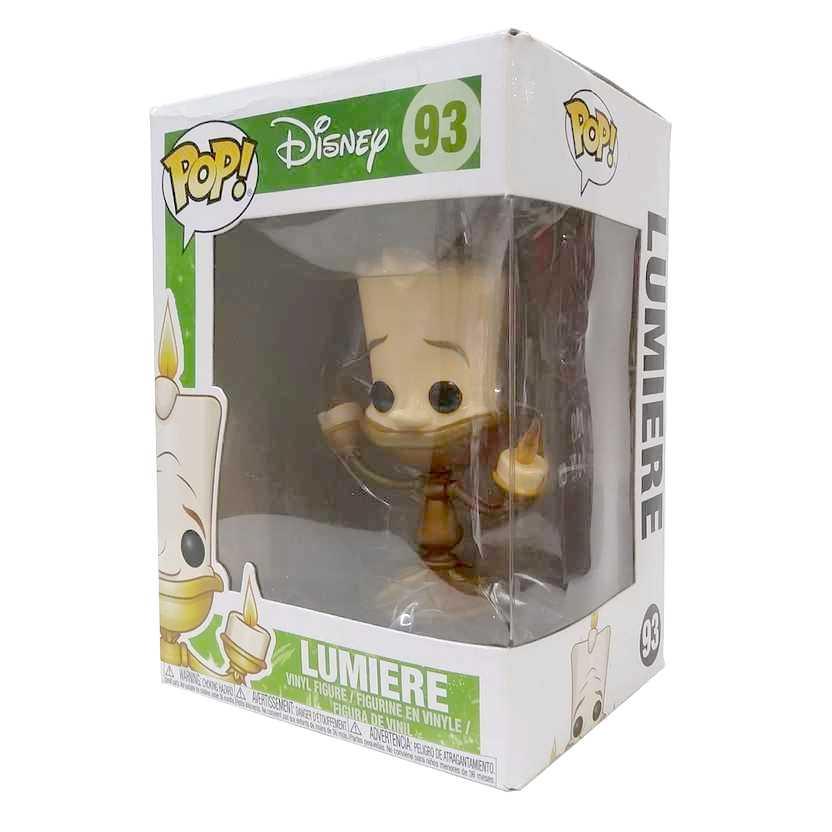 Funko Pop! Disney A Bela e a Fera Beauty and the Beast Lumiere vinyl figure número 93