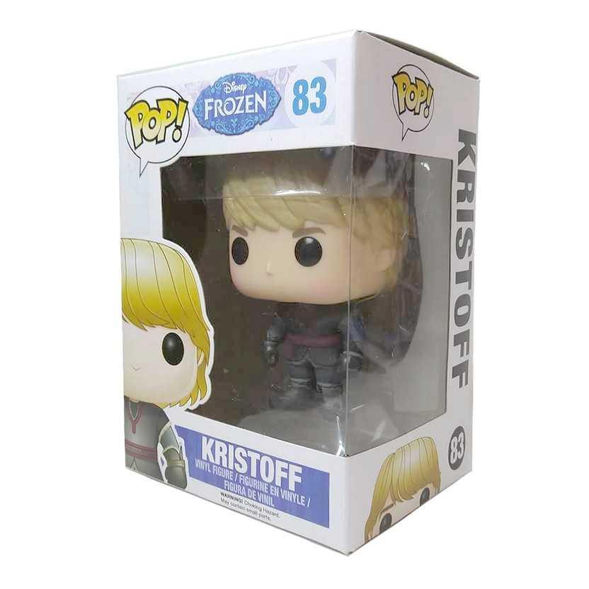 Funko Pop! Disney Frozen Kristoff namorado da Anna irmã da Elsa vinyl figure número 83