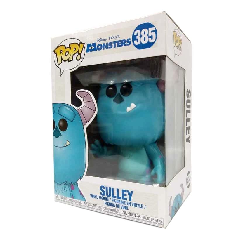 Funko Pop! Disney Pixar Monsters Monstros SA Sulley vinyl figure número 385
