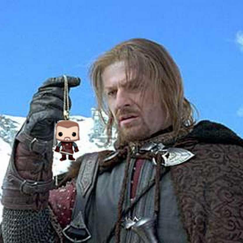 Funko Pop! Game of Thrones comprar no Brasil - Ned Stark (A Guerra dos Tronos)