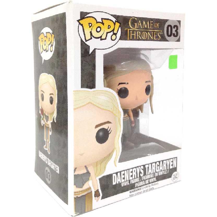 Funko Pop! Game Of Thrones Daenerys Targaryen (A Guerra dos Tronos) número 03