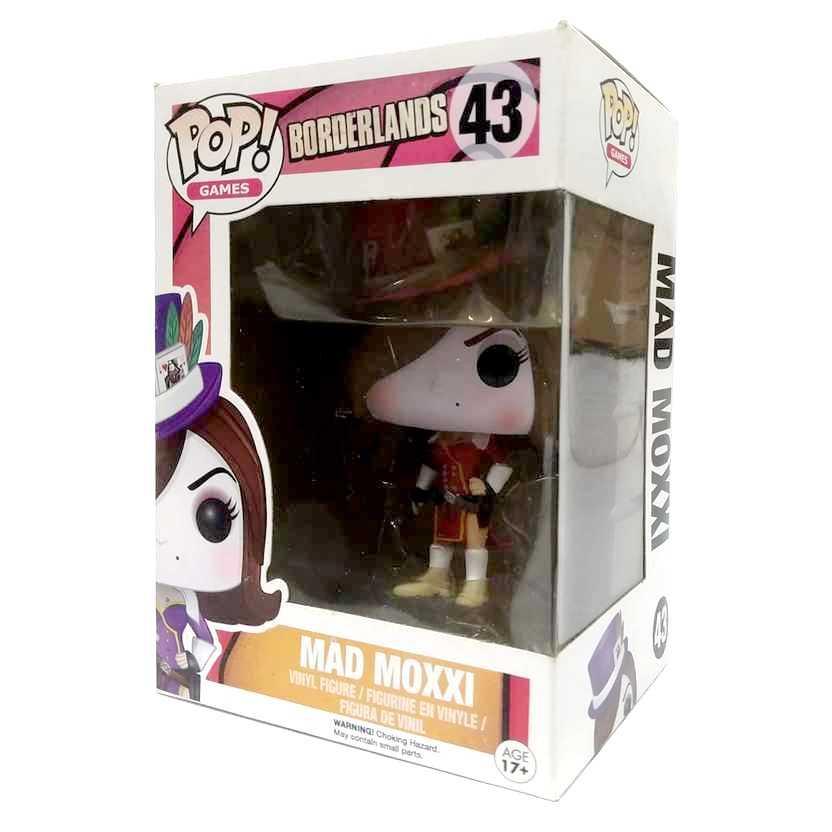 Funko Pop! Games Borderlands Mad Moxxi vinyl figure número 43