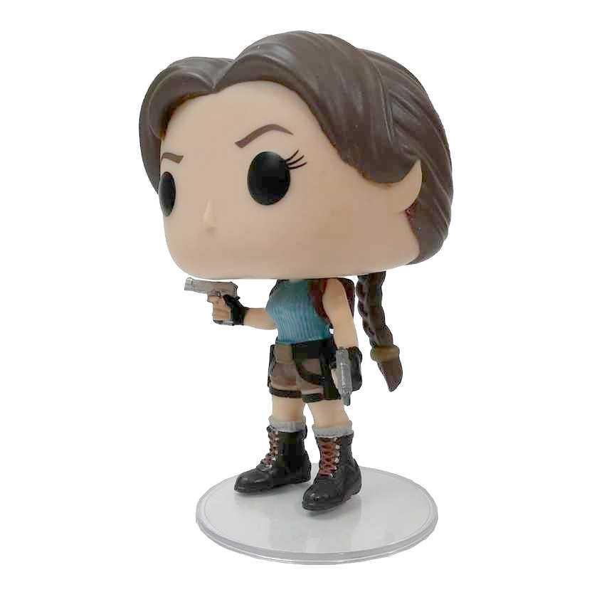Funko Pop! Games Lara Croft Tomb Raider LOOSE SEM CAIXA vinyl figure número 168