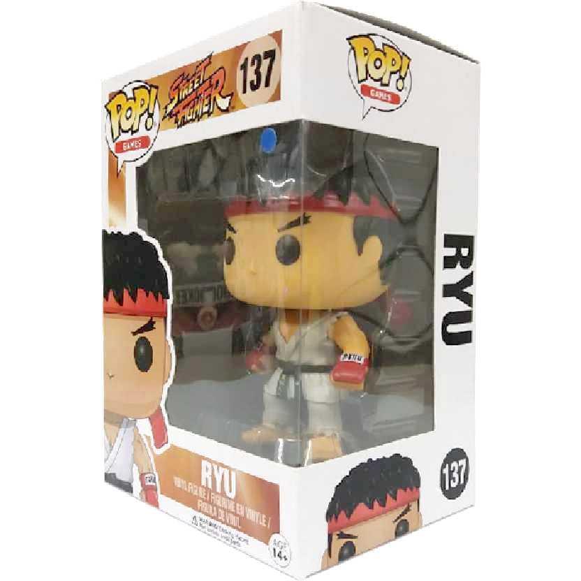 Funko Pop! Games Street Fighter RYU vinyl figure número 137 Original