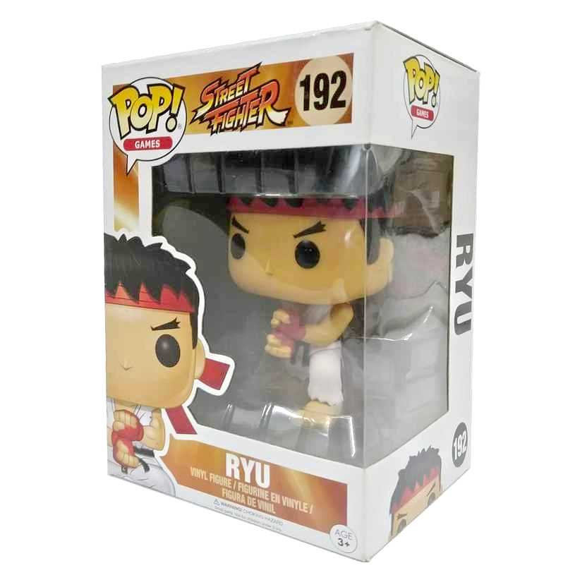 Funko Pop! Games Street Fighter Ryu vinyl figure número 192 Vaulted