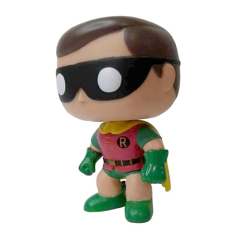 Funko Pop! Heroes Batman Classic TV Robin vinyl figure número 42 Loose SEM CAIXA