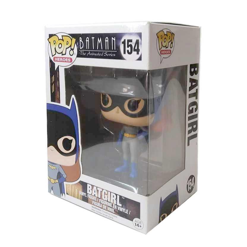 Funko Pop! Heroes Batman The Animated series Batgirl vinyl figure número 154 Vaulted