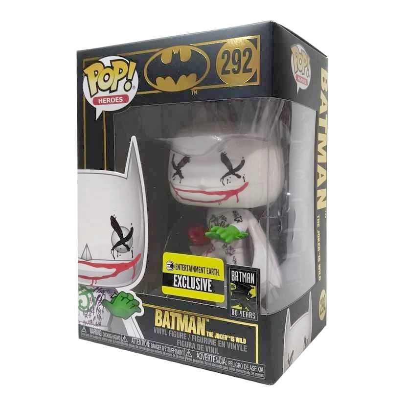 Funko Pop! Heroes Batman The Joker is Wild vinyl figure número 292 Entertainment Earth
