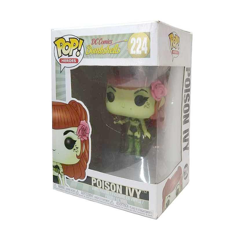 Funko Pop! Heroes DC Comics Bombshells Poison Ivy vinyl figure número 224 Hera Venenosa
