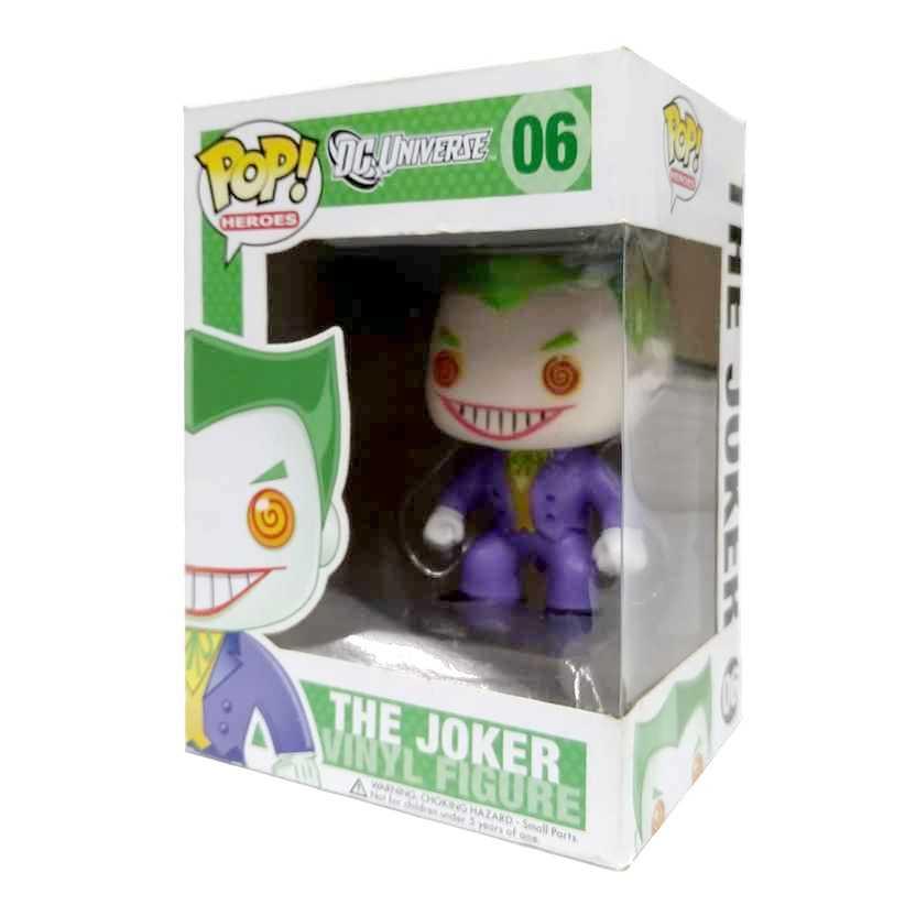 Funko Pop! Heroes DC Universe series 1 The Joker Coringa vinyl figure número 06