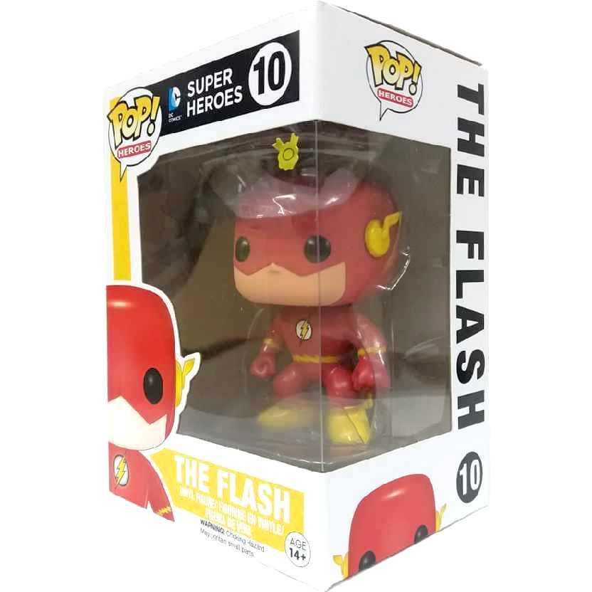 Funko Pop! Heroes DC Universe The Flash Vinyl Figure número 10 Original