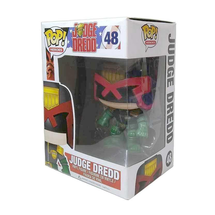 Funko Pop! Heroes Judge Dredd vinyl figure número 48 Vaulted