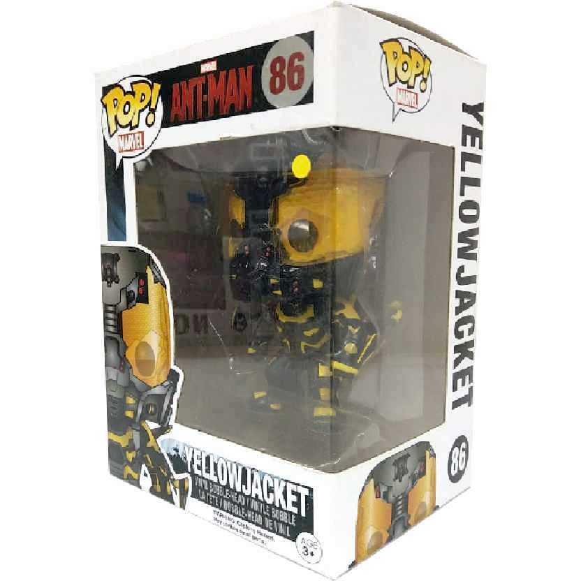Funko Pop! Homem-Formiga / Jaqueta Amarela Marvel Yellow Jacket número 86