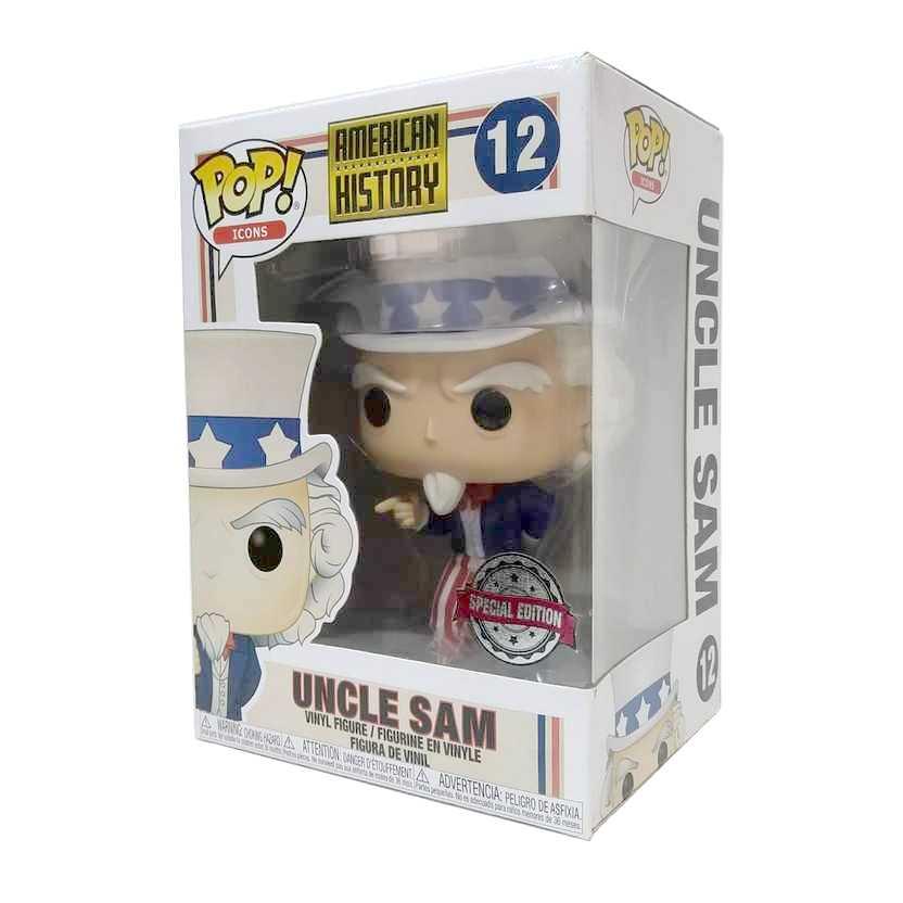Funko Pop! Icons American History Uncle Sam Tio Sam vinyl figure número 12