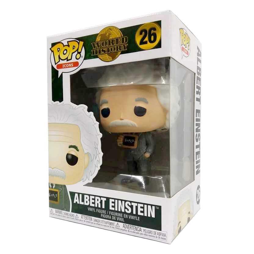 Funko Pop! Icons World History Albert Einstein vinyl figure número 26