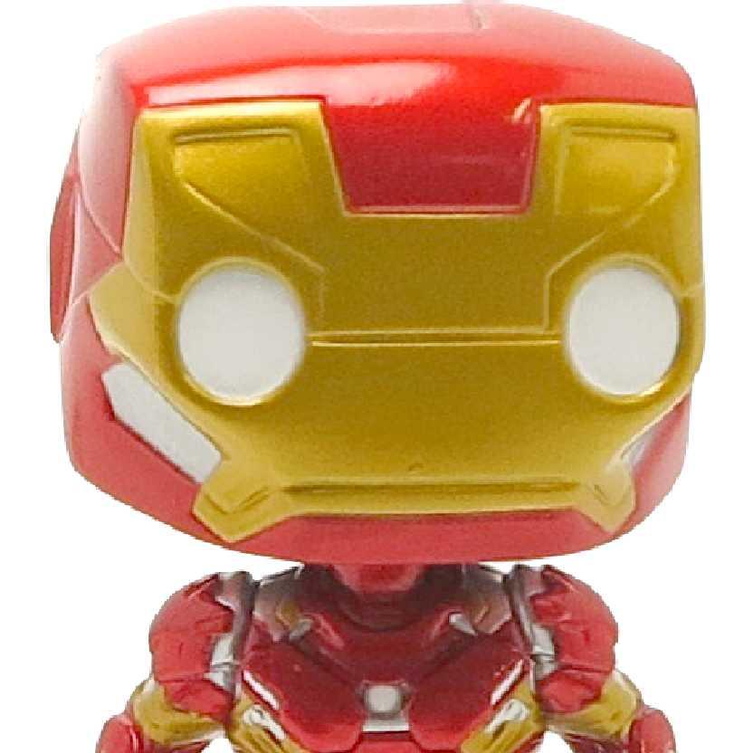 Funko Pop! Iron Man (Homem de Ferro) Capitão América: Guerra Civil vinyl figure número 126