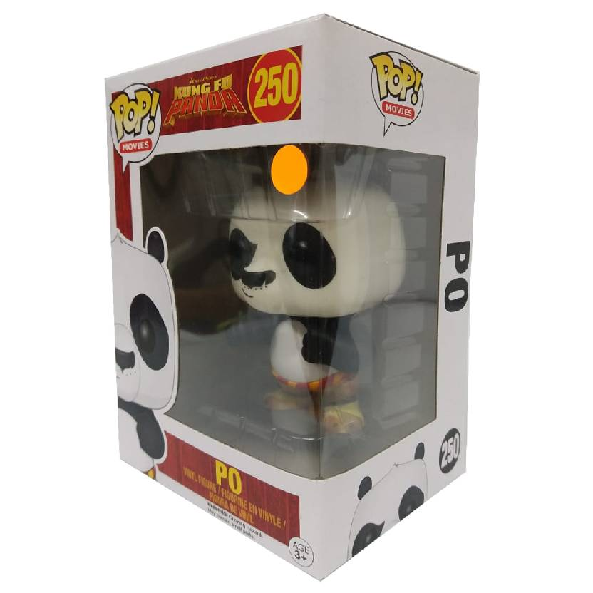 Funko Pop! Kung Fu Panda PO Disney Bonecos de Vinil comprar número 250 Original