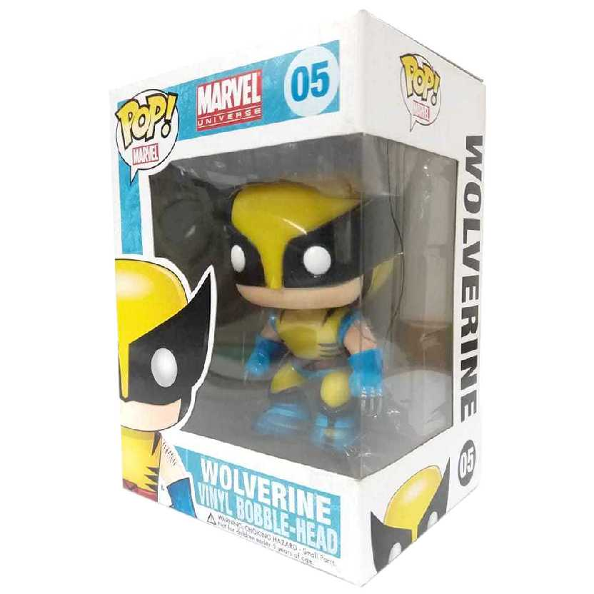 Funko Pop! Marvel Universe Wolverine num. 05 Vinyl Bobble-Head figure original