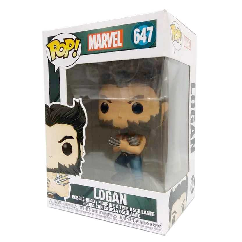 Funko Pop! Marvel X-Men Origins : Wolverine Logan vinyl figure número 647