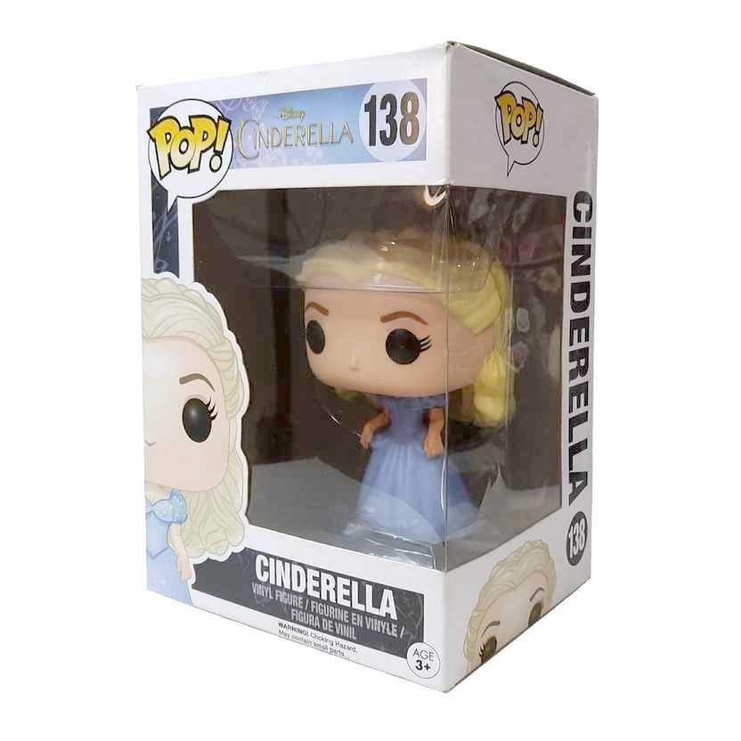 Funko Pop! Movies Disney Cinderella (Lily James) vinyl figure número 138 Vaulted